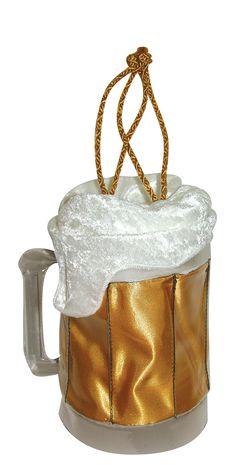 Bierglas-Tasche für Erwachsene: Diese Bierglas-Tasche für Erwachsene ist ungefähr 17 cm hoch. Ein Trageriemen aus Plastik erleichtert das Tragen. Eine kleine Schnur schließt die Tasche. Ein tolles Accessoire in dem...