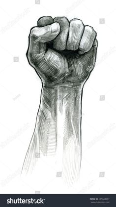 #pencil #drawing #fist #hand #gesture