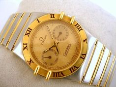 """Currently at the #Catawiki auctions: Omega - Constellation Chronometer """"NO RESERVE PRICE"""" - 198.0142 - Men - 1990-..."""