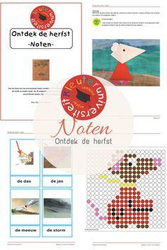 Ontdek de herfst met het prentenboek Noten en dit bijbehorende project - JufBianca bij Kleuteruniversiteit