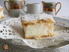 Pastarella bavarese - ricetta dolce goloso