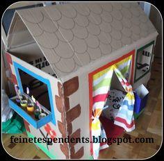 casa de cartró Cases, Frame, House, Home Decor, Activities, Picture Frame, Decoration Home, Home, Room Decor