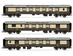 The Pullman Brighton Belle 1960s Car Pack in the Hornby Range of Train Packs accurately recreates the real life loco in stunning detail.
