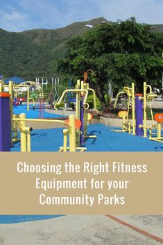 What to consider while choosing outdoor fitness equipment
