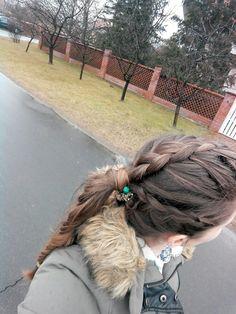 Even on a rainy day, you must have fun hair. #braids #braidedhairstyle #dutchbraid #fishtail