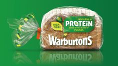 Warburtons Protein on Packaging of the World - Creative Package Design Gallery