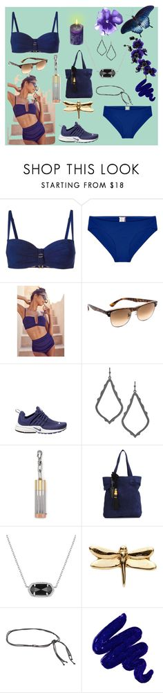 """""""Explore fashion.."""" by alyssa-loosy ❤ liked on Polyvore featuring Marlies Dekkers, Orlebar Brown, Out From Under, Ray-Ban, NIKE, Kendra Scott, Alexander Wang, Lizzie Fortunato Jewels, Loquet and ALMAROSAFUR"""