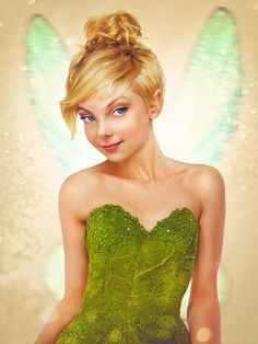 Real Life Disney Character Tinkerbell