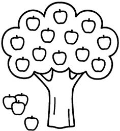 Apple Coloring Pages – coloring.rocks! Apple Coloring Pages, Train Coloring Pages, Fish Coloring Page, Thanksgiving Coloring Pages, Free Coloring Sheets, Christmas Coloring Pages, Coloring Pages To Print, Free Printable Coloring Pages, Coloring Pages For Kids