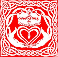 Hand and Heart - Claddagh Filet Crochet Pattern $3.00