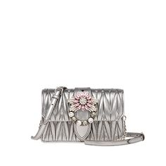 Shop online for hand bags and shoulder bags, belt bags, clutches, bucket bags and backpacks from the latest Miu Miu Bags collection. Miu Miu Handbags, Bucket Bag, Leather Bag, Chrome, Mini, Michael Kors, Backpacks, Belt, Lady
