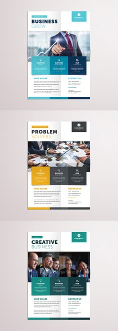 Free Corporate Business Flyer Psd Template Misc Pinterest