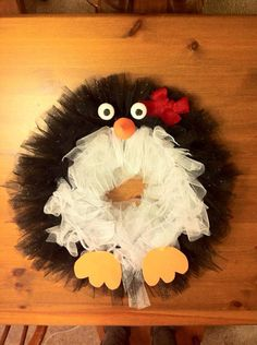 Pich The Penguin By Comeflyletsflyaway On Etsy Christmas Door Decorationschristmas