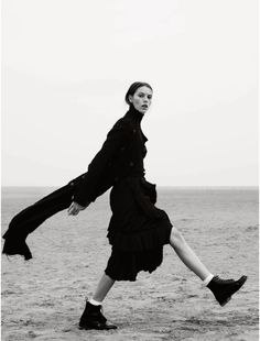 Josefien Rodermans by Aitken Jolly for Elle UK October 2014 - The New Puritan