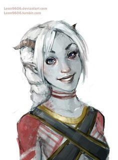 Qunari woman