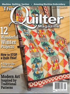 New quilt magazine! Quilt-it...today (from Quilt-it...today.com ... : quilting today magazine - Adamdwight.com