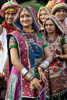 Festivity grips India as Navratri, or the festival of nine nights, begins Tuesday, October Gente India, Bollywood, Indiana, Amazing India, India Culture, India People, Rajasthan India, India India, People Of The World