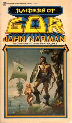 Raiders of Gor - John Norman, cover by Boris Vallejo