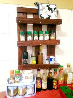 Pallet Spice Rack - Step by Step | 99 Pallets