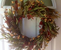 Harvest Meadows Autumn Door Wreath Wreath For Door http://www.amazon.com/dp/B00DDZDNT4/ref=cm_sw_r_pi_dp_YISgub1S7S705
