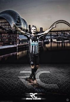Remy Cabella Newcastle Football, Sydney Harbour Bridge, Football Team, Army, Black And White, Soccer, Travel, Twitter, Sports