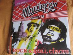 ORQUESTA MONDRAGON 2LP EMI 1985 - EN VIVO ROCK N ROLL CIRCUS - GURRUCHAGA - IVAN ZULUETA - Foto 1