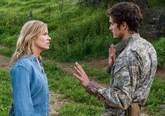Madison Clark (Kim Dickens) and Troy Otto (Daniel Sharman) Fear the Walking Dead Season 3 Episode 7
