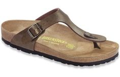 11942a2b69f4 BIRKENSTOCK Gizeh Birko-Flor Golden Brown in all sizes ✓ Buy directly from  the manufacturer online ✓ All fashion trends from Birkenstock
