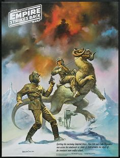 Star Wars: Episode V – The Empire Strikes Back by Boris Vallejo , 2/4