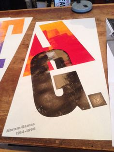 As part of the AIGA Centennial events, Monotype is working with London's Alan Kitching, typographer, designer and letterpress practitioner, on a poster exhibit in New York kicking off at AIGA on May 1. (The Typography Workshop in London and Kitching's studio have the largest collection of wood and metal type in Western Europe.)