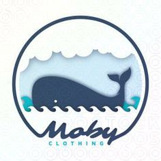 1000 images about bluelogos on pinterest logos baby for Whale emblem on shirt