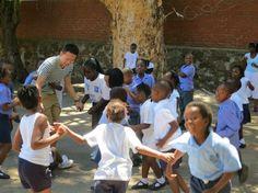 An inspiring UBELONGer volunteering in Cape Town, South Africa. #VolunteerAbroad