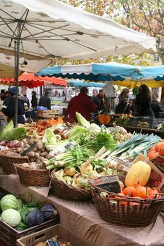 Food market, Strasbourg France. You are sure to find similar food on a FRENCH FOOD TOUR from Viator or other tour companies from our guide at:http://www.allaboutcuisines.com/food-tours/france/in/france #Travel France #Food Tours France