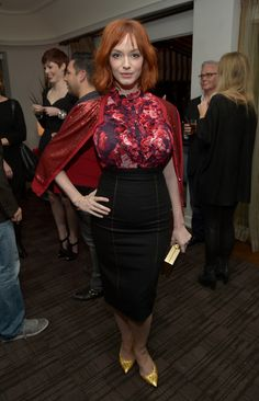 Christina Hendricks Photos - Banana Republic L'Wren Scott Collection Launch Party - Zimbio