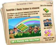 Here at my farmville 2 cheats You can get information about Farmville 2 Cheats , Tips , Guide, Hack , Tricks and Bots to get ultimate edge in the game >> farmville 2 cheats, cheats for farmville 2, Farmville 2 Cheats --> http://www.myfarmville2cheats.com/farmville-2-trainer/