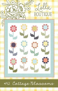 Image of #142 Cottage Blossoms - Paper pattern