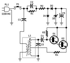 How to build Mains Remote-Alert (circuit diagram)
