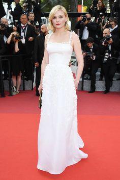 Kirsten Dunst en Dior haute couture au Festival de Cannes 2016