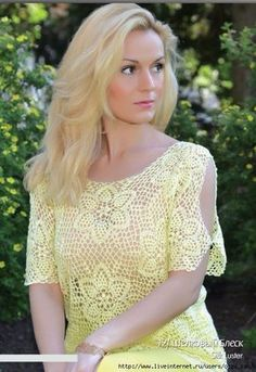 Crochetemoda Blog: Crochet - Blusa