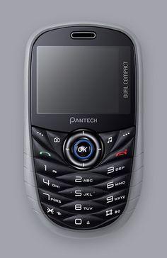 Pantech Dual Compact 2010 Mobile Phone  www.jiyounkim.com