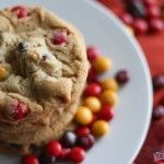M and Chocolate Chunk Cookies