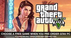 Rockstar berikan game gratis dan virtual cash $1juta untuk setiap pre-order GTAV hingga 1 Februari
