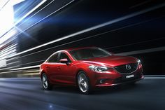 The 2014 #Mazda6 boasts an all-new design scheme inspired by the Takeri concept car and the full suite of #SKYACTIV ® TECHNOLOGY. #Mazda