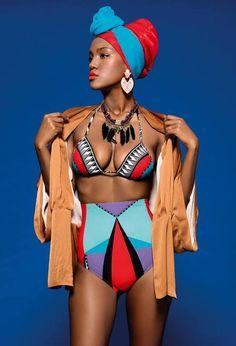 Yityish Titi Aynaw...I need to own this bathing suit...