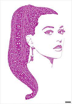 Katy Perry Print by Sean Ings