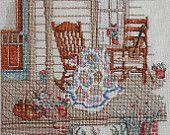 Paula Vaughan Vaughn FIDDLER and the QUILT MAKER - Counted Cross Stitch Pattern Chart - Leisure Arts