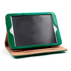 Kelly Green iPad Air 2 Leather Case and Stand