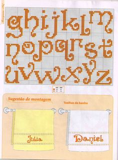 lowercase alphabet - just a picture, no pattern