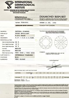 Foto 9, Diamant Brillant 0,271ct IGI Lupenrein Wesselton Juwel!, D5568
