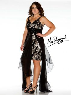Fierce!!! A night out in town for us sexy plus size girls. macduggal.com